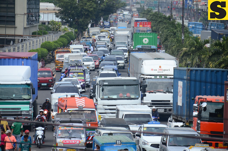 Mandaue City traffic situation