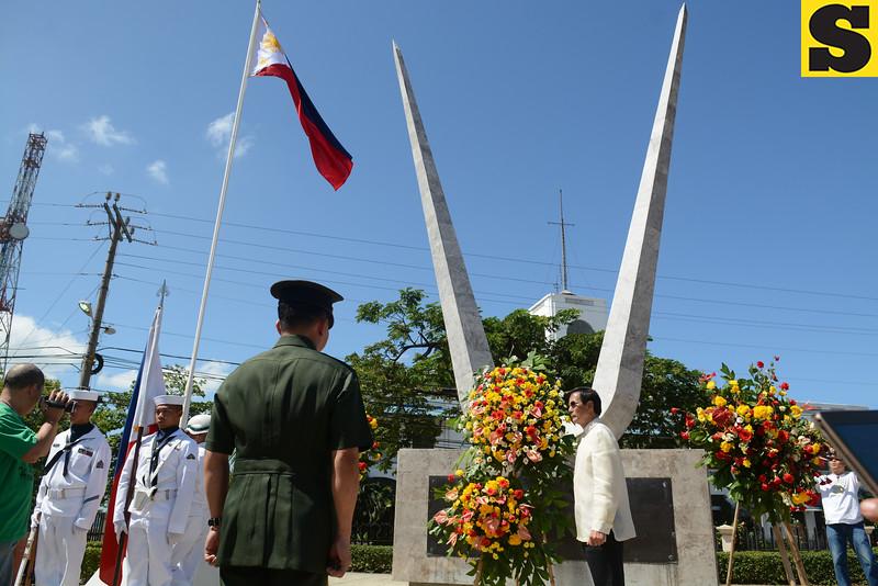 Mike Rama leads Araw ng Kagitingan celebration