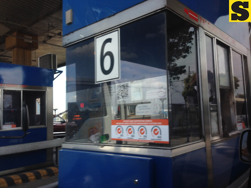 Philippine toll booth