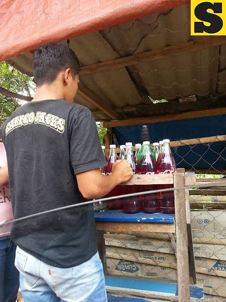 Bottled gasoline for sale