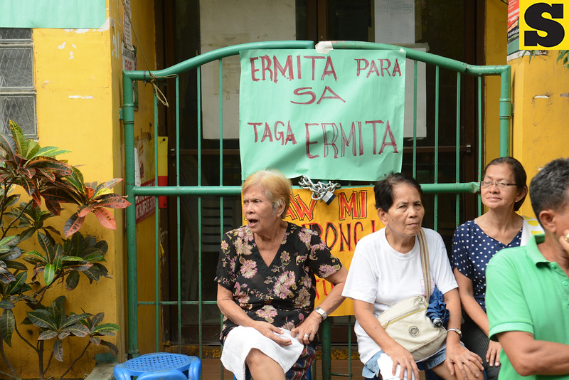 Senior citizens of Barangay Ermita, Cebu City