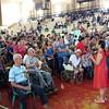 Representative Gloria Macapagal Arroyo with constituents