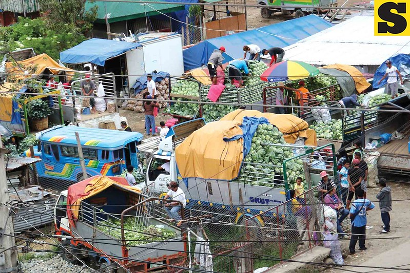 Traders supply vegetable
