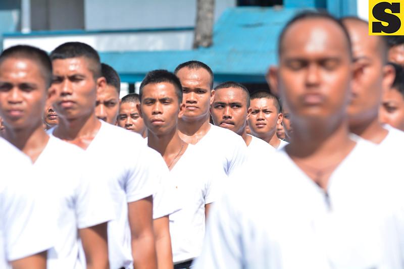 Cebu police recruits