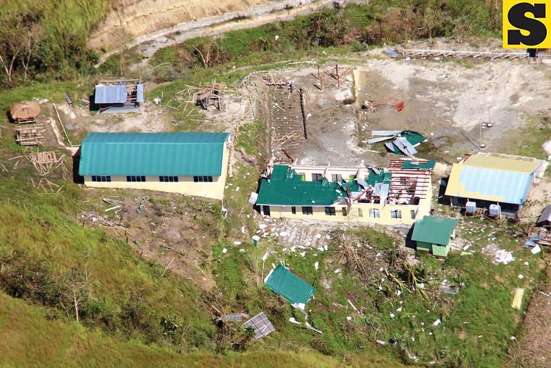 Typhoon Lawin destroys school in Kalinga