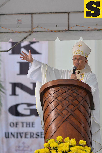 Archbishop Jose Palma leads the celebration of the Solemnity of Christ the King in Cebu City