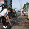 Cleanup in Davao City