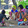 Badjao women