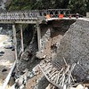 Kennon Bridge damaged