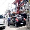 Traffic officer apprehends motorist