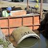 Drainage construction project