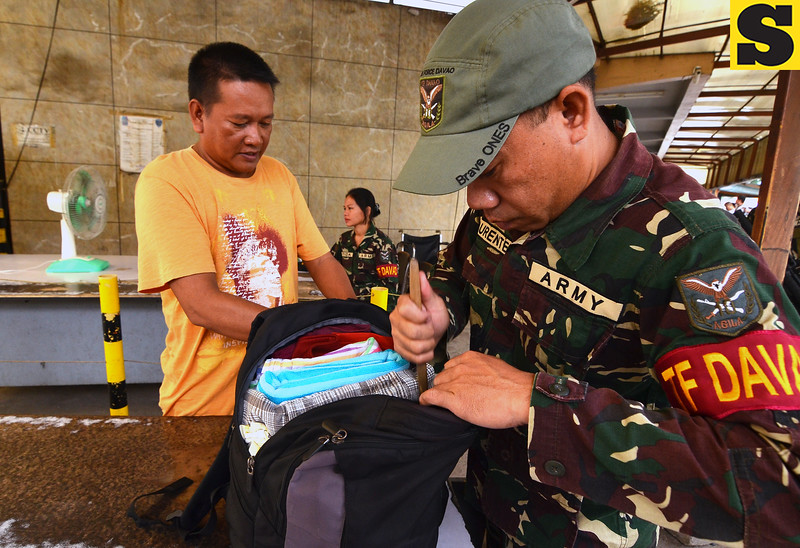 Security measures at Davao terminal