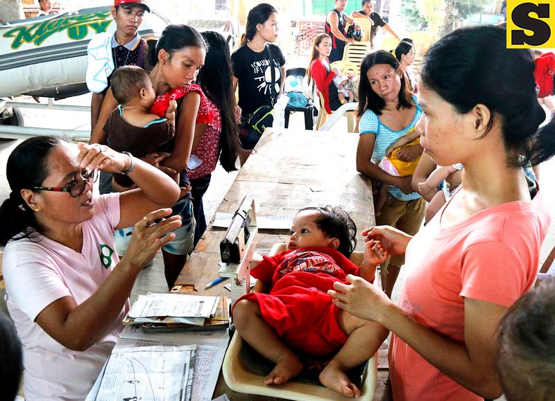 Toddlers set for immunization