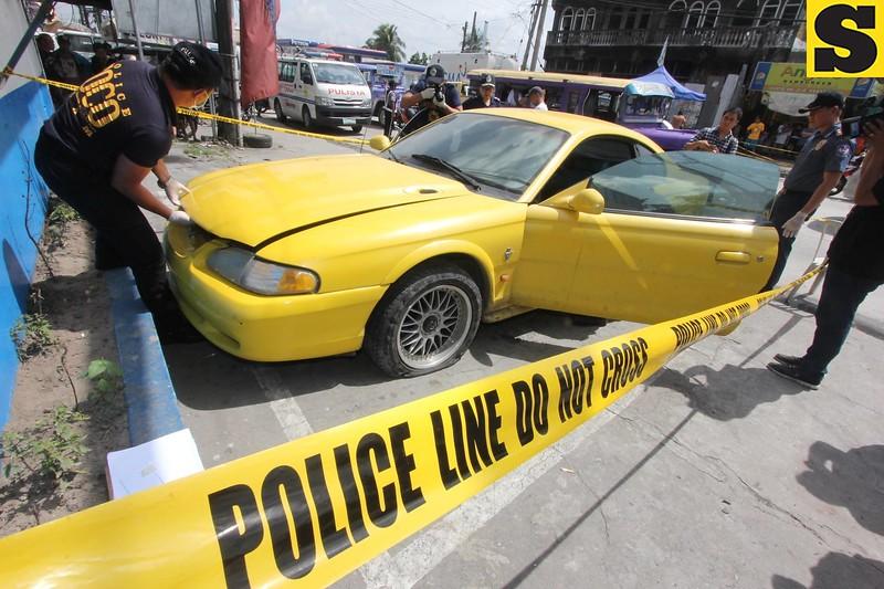 Mark Anthony Fernandez car