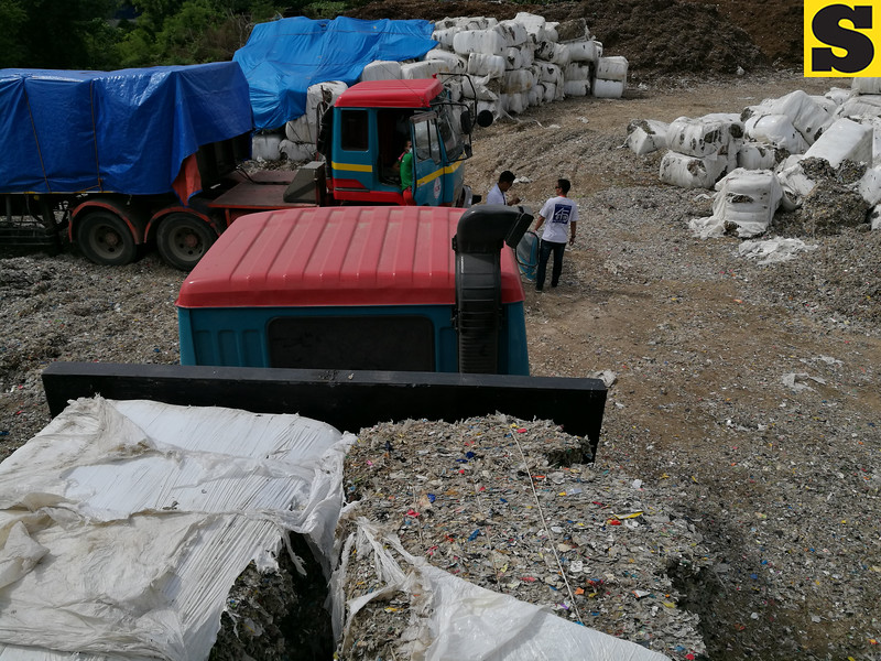 Plastic wastes shipped from Jeju in South Korea to Cebu