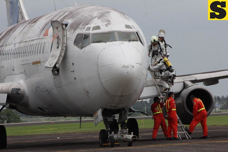 Airline emergency exercise