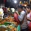 Vegetable stall in Cogon market