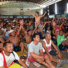 Boxing fans watch Pacquiao-Vargas fight