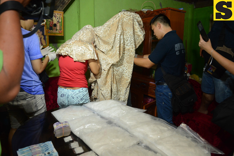 Mercy and Mark Abellana arrested in drug raid