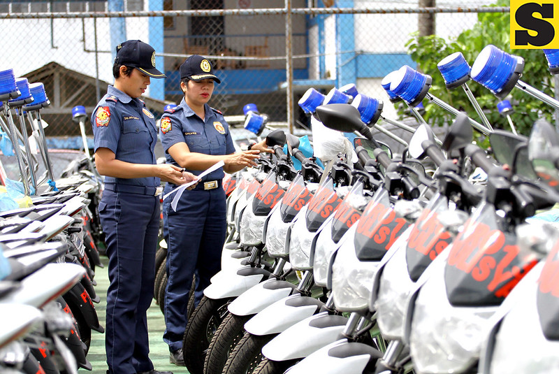New motorcycles for Caraga police