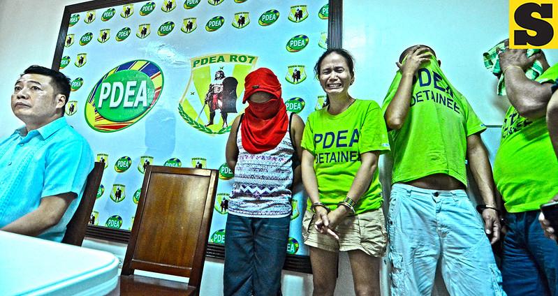 Drug suspects arrested in Cebu