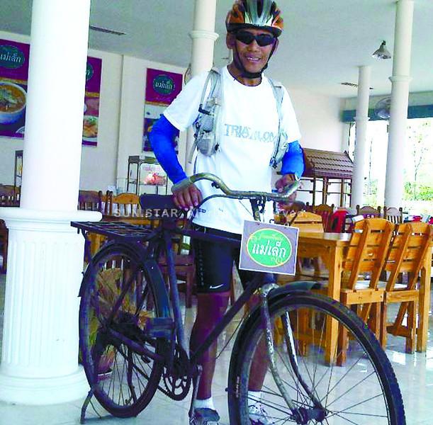 Pre-World I bike on display at Hua Hin, Thailand. (Bro. Carlo Bacalla photo)