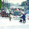 Flooding in Subangdaku, Mandaue City, Cebu