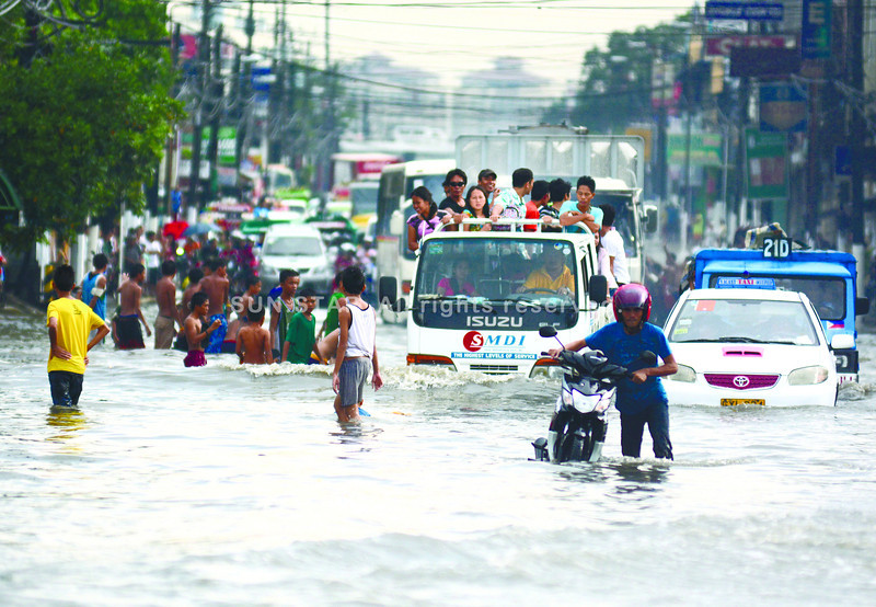 Flooding in Subangdaku, Mandaue City, Cebu