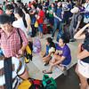 Stranded Cebu Pacific passengers