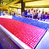 SWEET INDEPENDENCE. Thousands of chocolates from Ralfe Gourmet form a 12 by 20 feet Philippine flag, unveiled on Saturday in the SM City North Wing ahead of next week's Independence Day celebrations. (Alex Badayos)