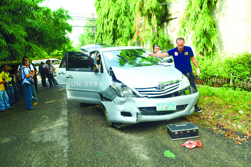 Doctor, family ambushed in Cebu City