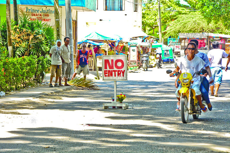 Crime scene in Argao