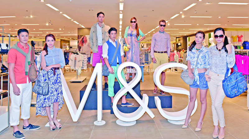 The new M&S store in Davao City.