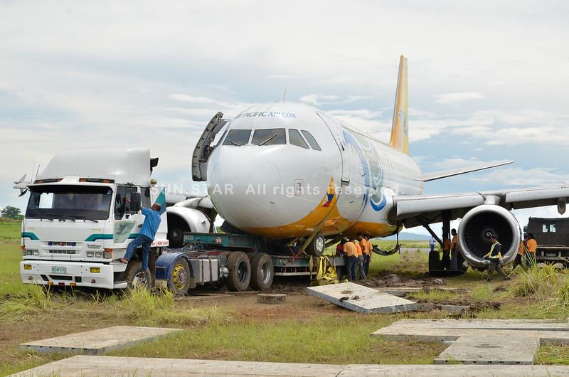 Costly accident involving Cebu Pacific