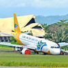 Cebu Pacific airplane overshoots runway in Davao airport