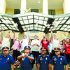 CEBU. Local government and police officials led by Mayor Michael Rama release white doves in Plaza Sugbo as part of the city's Independence Day celebrations. (Allan Defensor of Sun.Star Cebu)