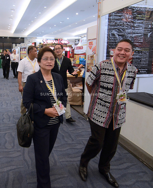 World food exposition in Lanang Premiere, Davao City