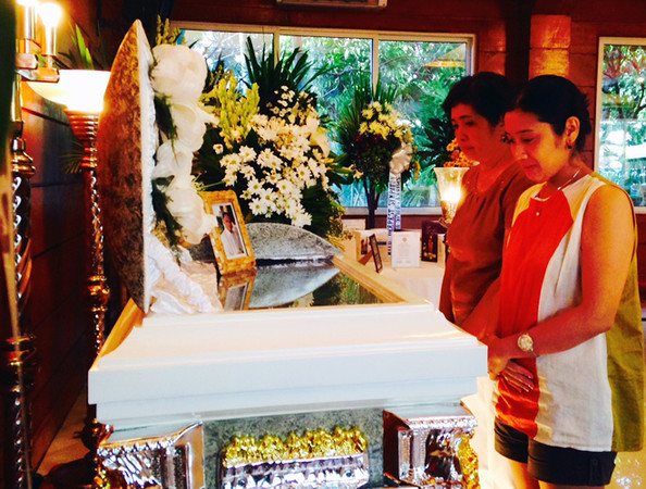 Wake of Sun.Star Bacolod columnist Andy Hagad