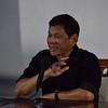 Rodrigo Duterte press conference in Davao