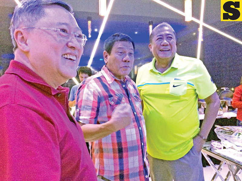 Duterte with Cabinet members