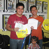 CAGAYAN DE ORO. The next two winners (from left) Jose J. Cordova and Julius T. Bacatan. (Mitz Anga)