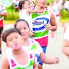 FATHER'S DAY RUN. A runner carries his daughter during the Kapamilya Run at Parkmall in Mandaue City. (Sun.Star Photo/Ruel Rosello)