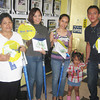 CAGAYAN DE ORO. The first four winners (from left) Eulalia D. Gulle, Rodelia A. Tuquib, Mareneil M. Revecho and Ariel Hawinay. (Mitz Anga)