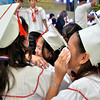 DAVAO. The new graduates of Davao City Special School in Davao City are seen emotional as they hug each other during their closing exercises held at SM City Annex on Monday. (King Rodriguez)