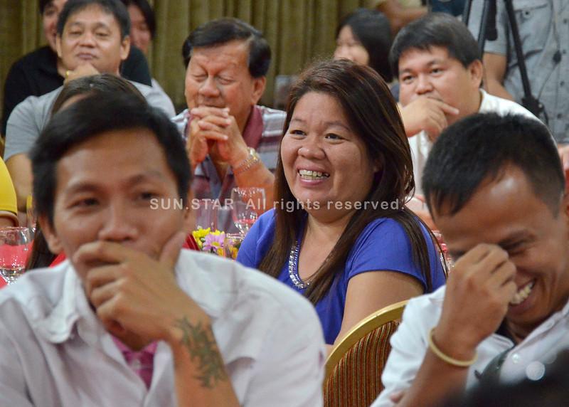 Davao City Mayor Rodrigo Duterte meets taxi operators