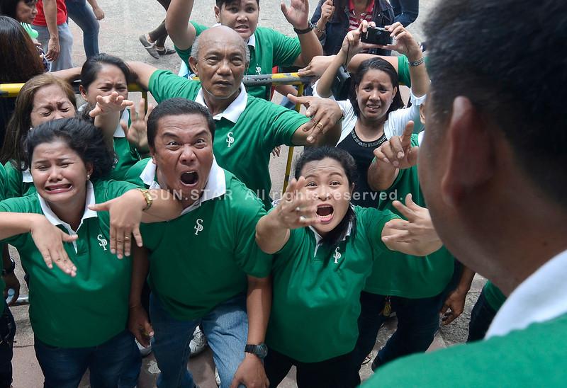 City Hall employees playing Pinoy Henyo