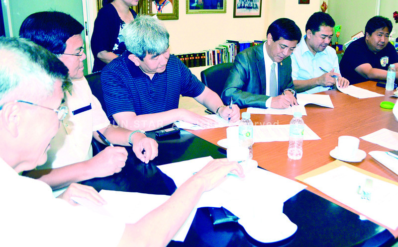 Memorandum of understanding signing