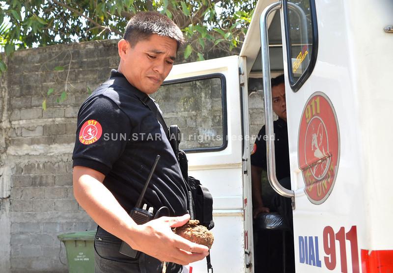 Karaang granada nakalut sa Davao