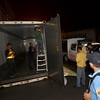 Container van reveals cocaine