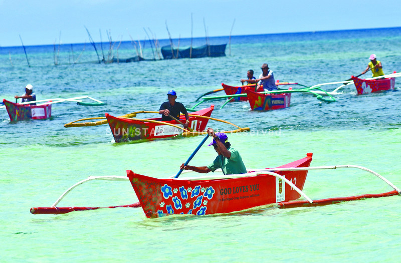 San Remigio, Cebu fishermen test new boats